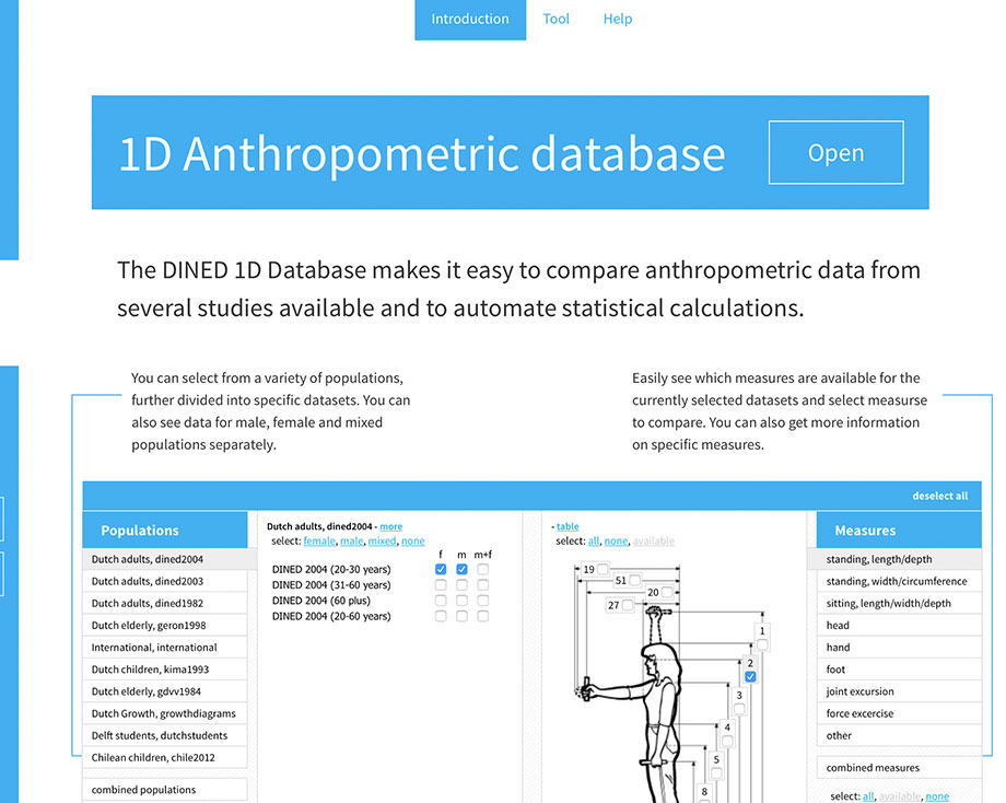 1D Database introductory page