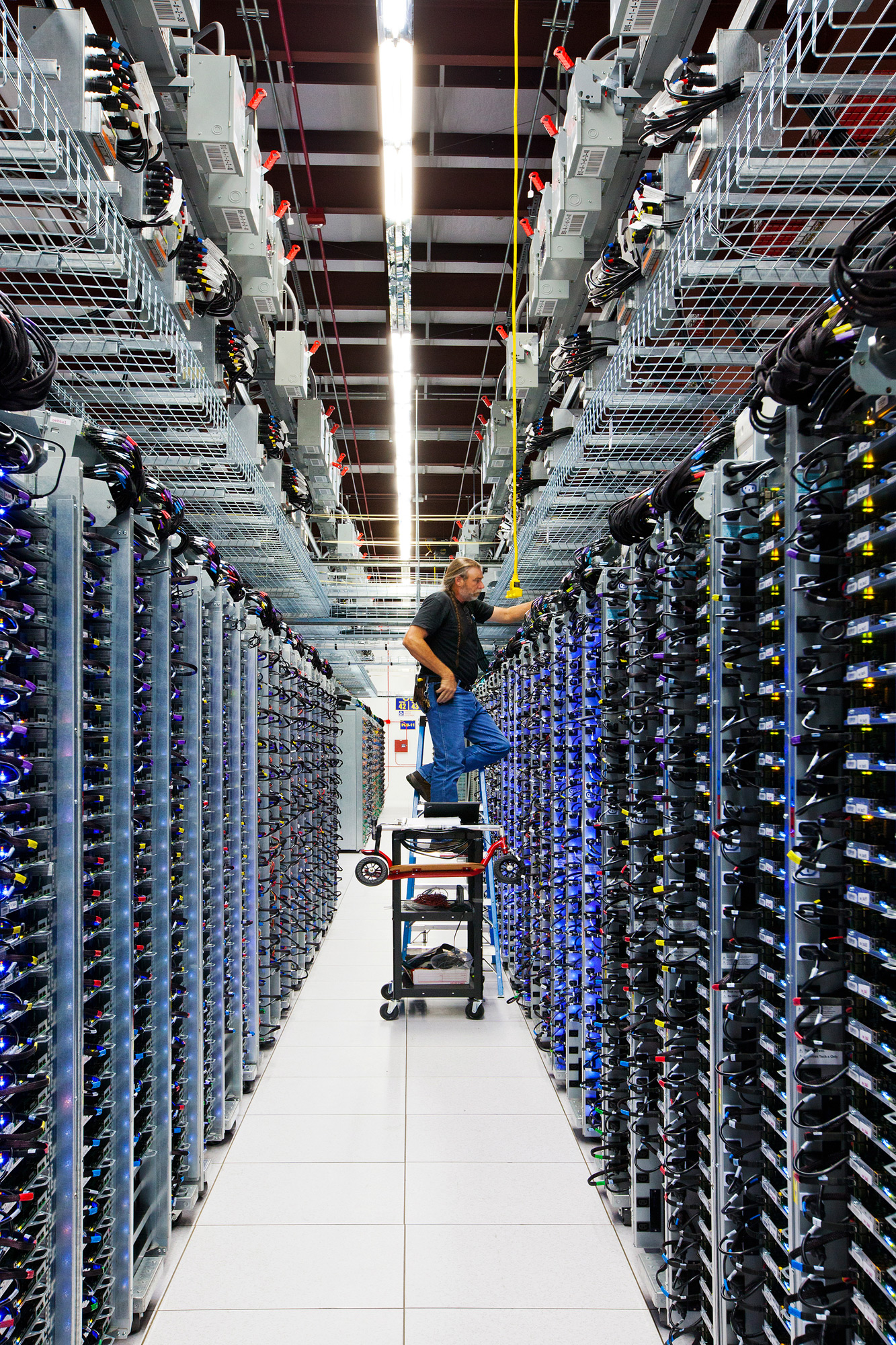 Rows and rows of servers...