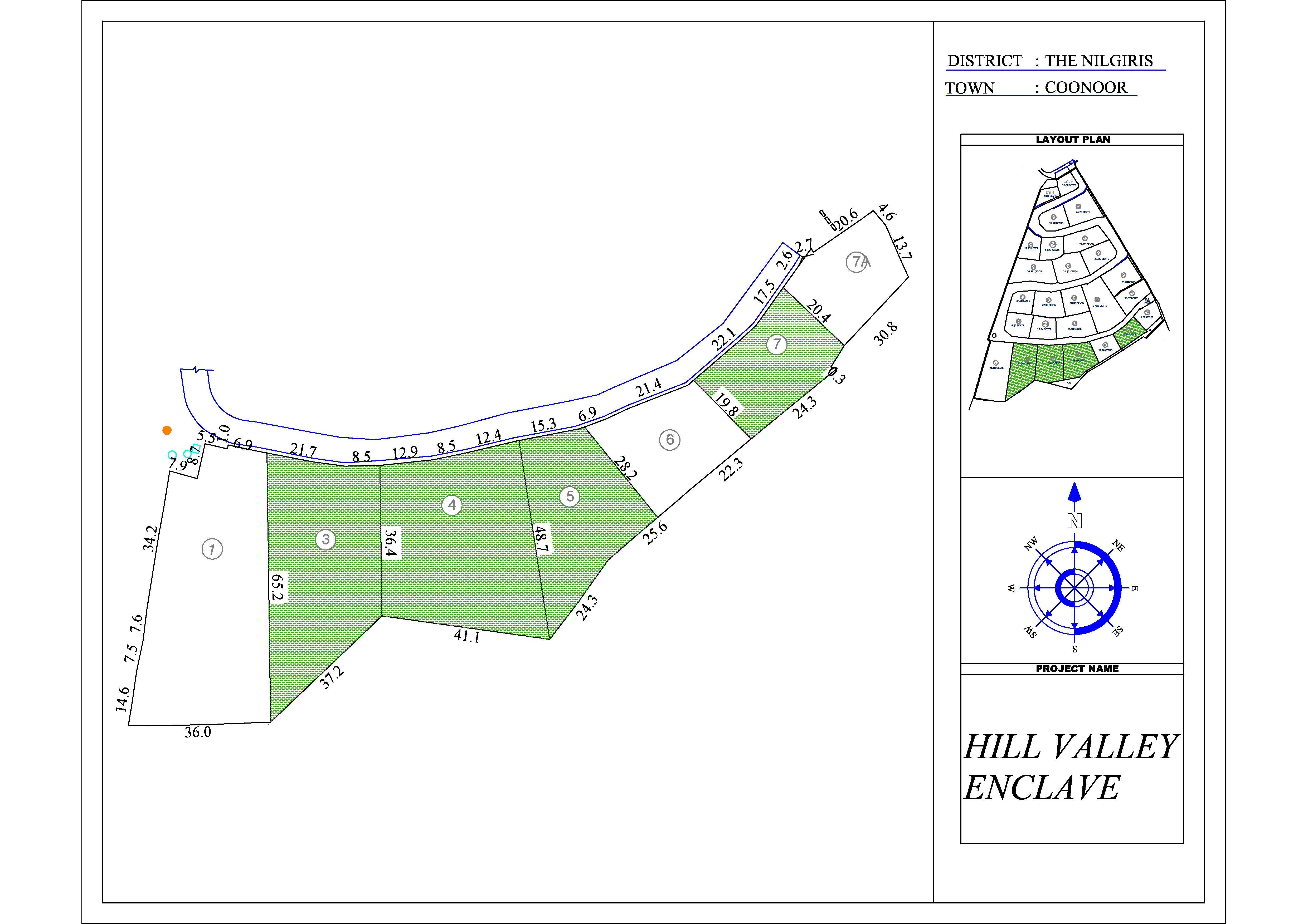 Hill Valley Enclave Layout