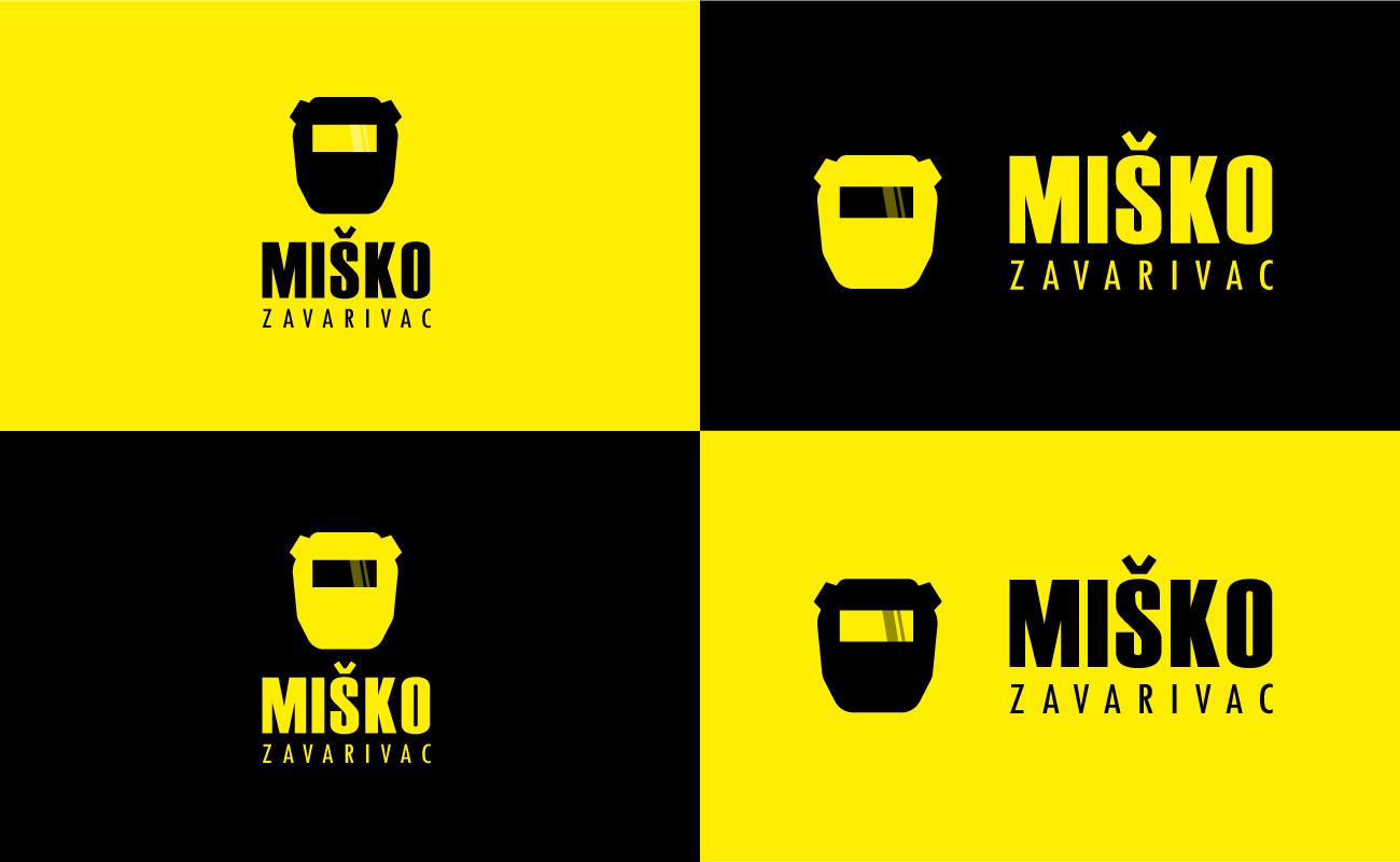 Logo Design Misko Zavarivac Colors