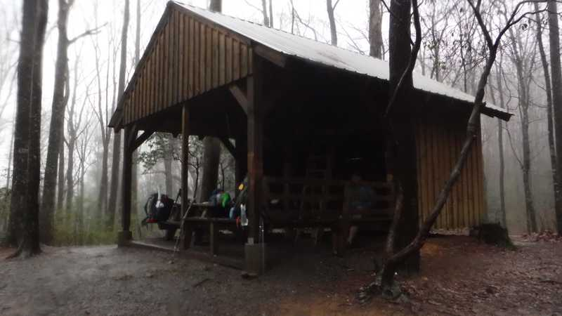 Stover  Creek Shelter