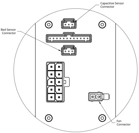 Pulsar Backplate Connectors