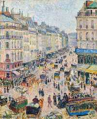 Pissarro's Rue Saint-Lazare in Daylight was sold by Christie's in November 2018 for $12.35 million