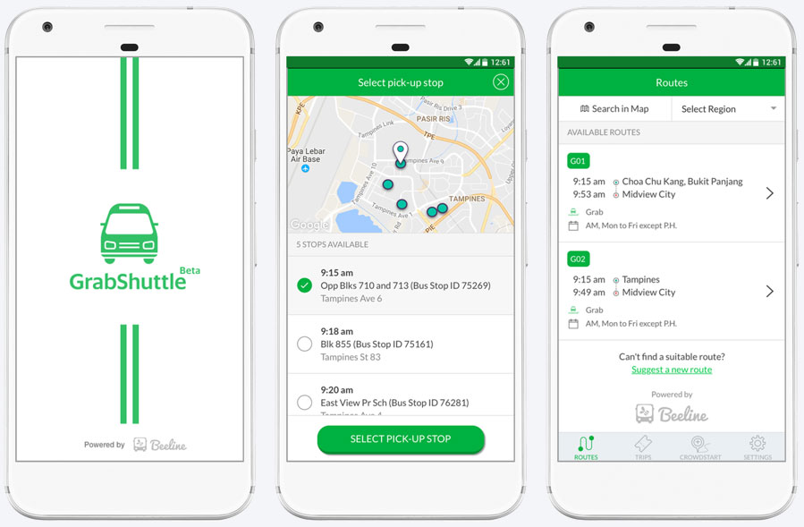 Grab Launches GrabShuttle, An Affordable Shuttle Service for Commuters