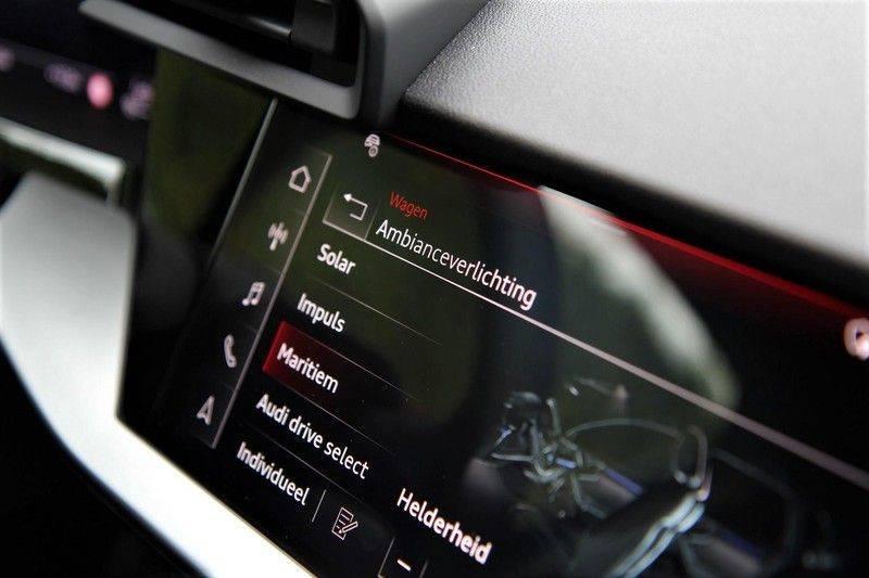 Audi S3 LIMOUSINE PANO.DAK+LEDER+HEAD-UP+CARBON+B&O afbeelding 18