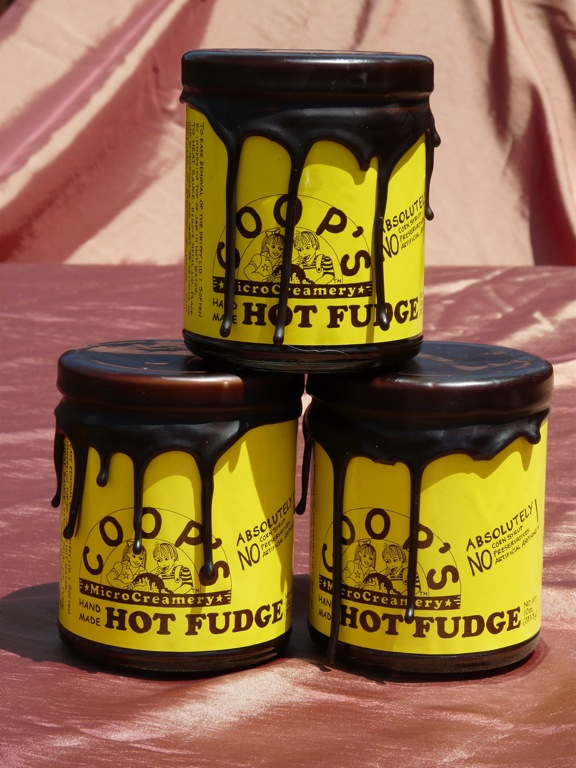Coop's vegan hot fudge