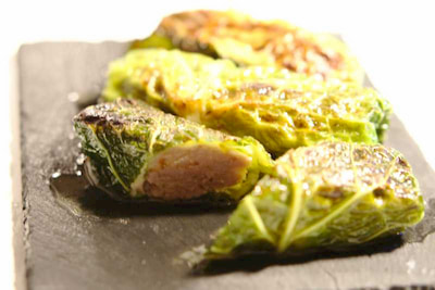 fotografía del plato