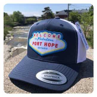 Fabulous Port Hope Hat Navy/White