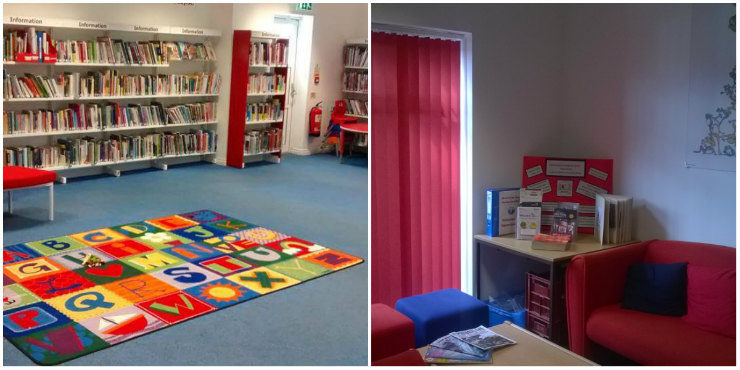 Space for hire available at Kesgrave Library