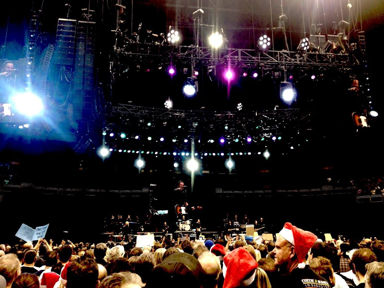 Springsteen in concert