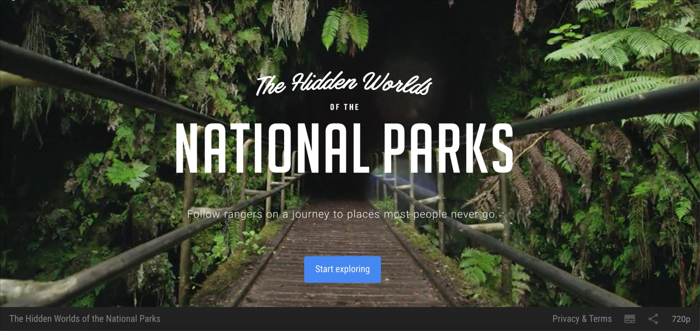 National Parks screengrab