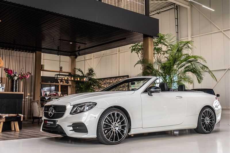 Mercedes-Benz E-Klasse Cabrio 350 AMG | Carbon | Burmester | 360º | Night pakket afbeelding 3