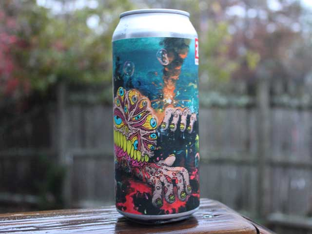 CHAOS, a Triple New England IPA brewed by Fermentation Arts Brasserie (FAB)