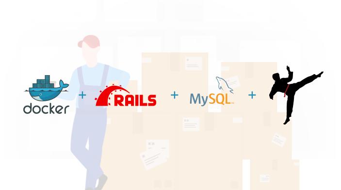 Dockerize a Rails App with MySQL and Sidekiq