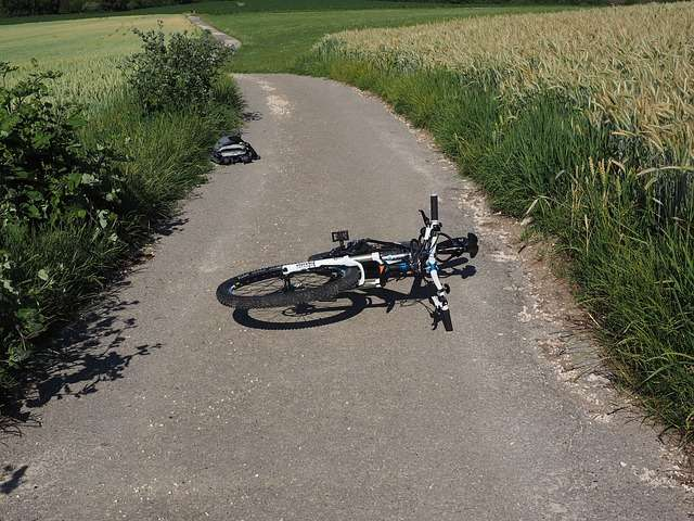 Cyclists suffer identical injuries in horror crashes