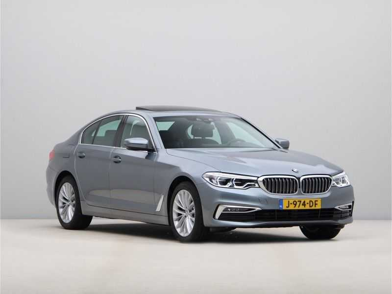 BMW 5 Serie 520i High Exe Luxury Line afbeelding 10