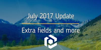 """Cover image for July 2017: new """"Extra"""" fields and more"""