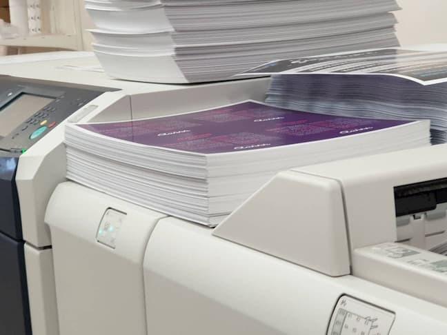 Spaudos lapai ant Xerox