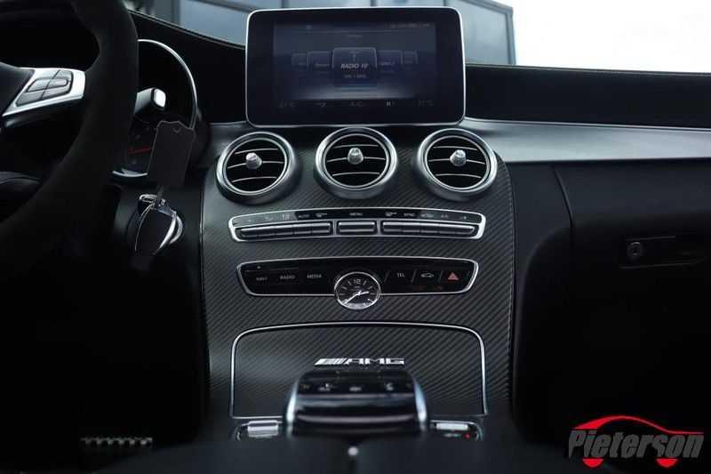 Mercedes-Benz C-Klasse C 63 S AMG Coupé Edition 1 Pano Schalensitze afbeelding 12