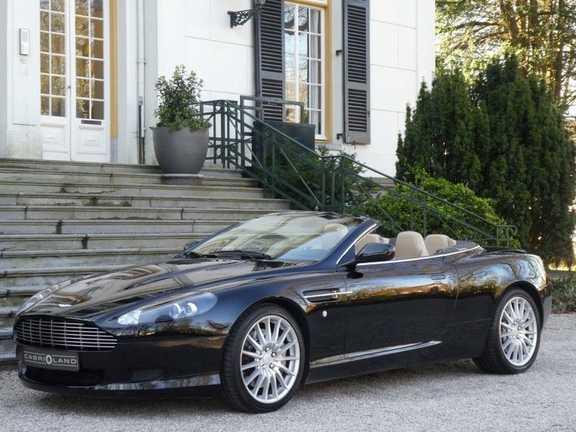 Aston Martin DB9 Volante 5.9 V12 Touchtronic, Kroymans onderhouden