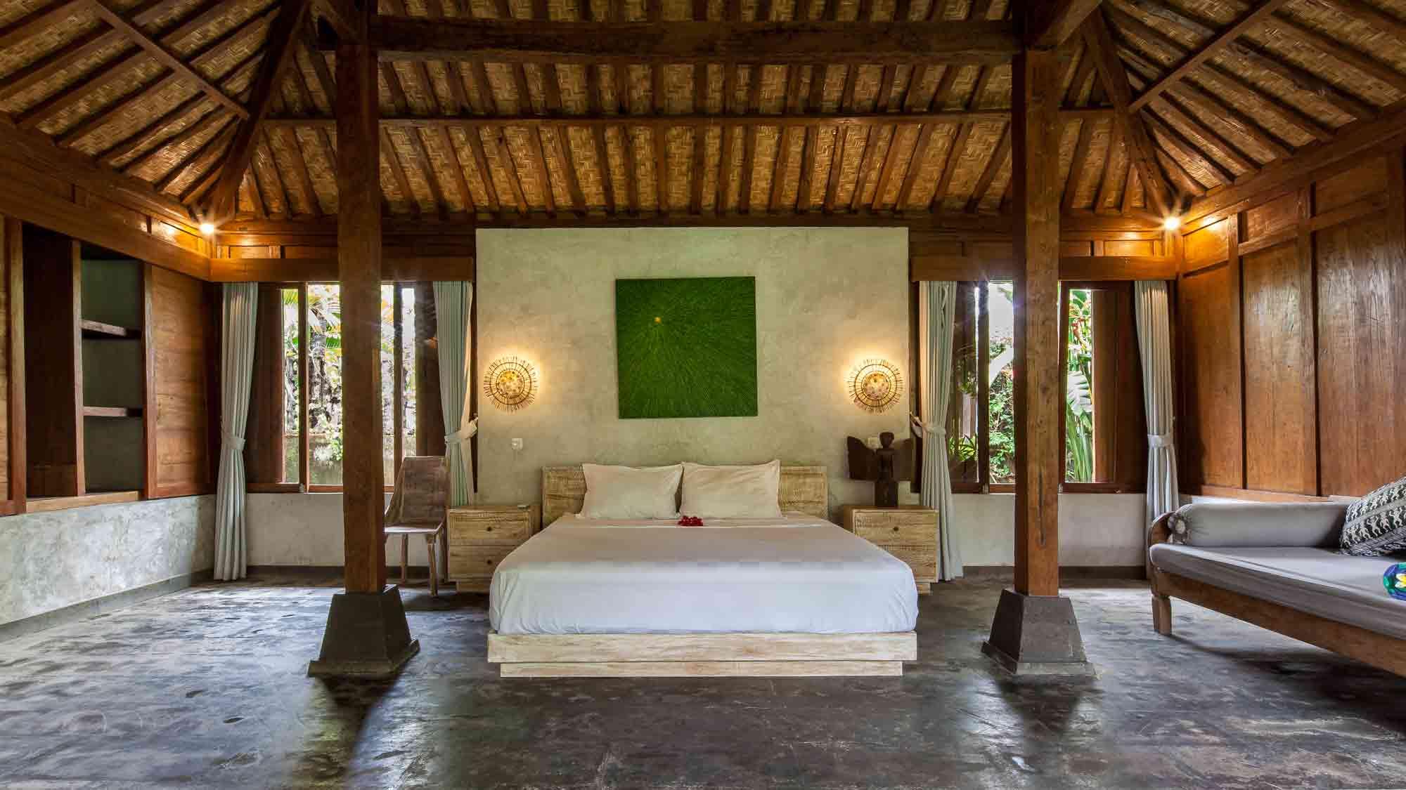 Joglo room at Eat Sleep Skate Bali