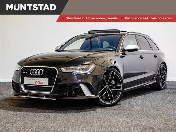Audi A6 Avant 4.0 TFSI RS6 quattro Pro Line Plus Akrapovic | B&O Premium Sound | Head-Up | Origineel NL | Dealeronderhouden | Pano.Dak | 360 Camera
