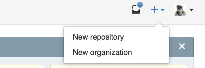 Create new repo