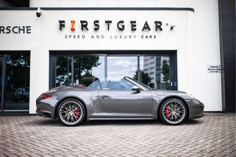 Porsche 911 Cabrio 3.0 Carrera 4S *BOSE / PDLS+ / Vierwielbest. / Sport Chrono / Sportuitlaat* afbeelding 7