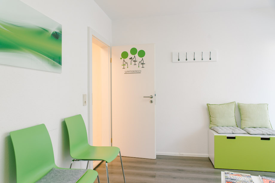 Das Wartezimmer für Patienten aus Freiburg, Zähringen, Herdern und Gundelfingen