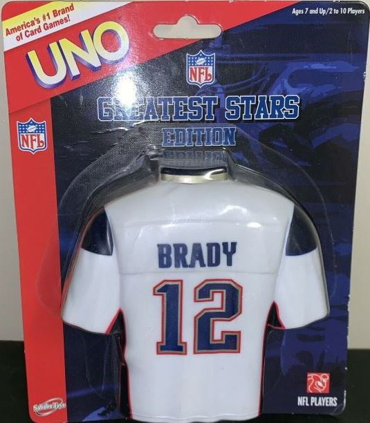 NFL Greatest Stars: Tom Brady Uno