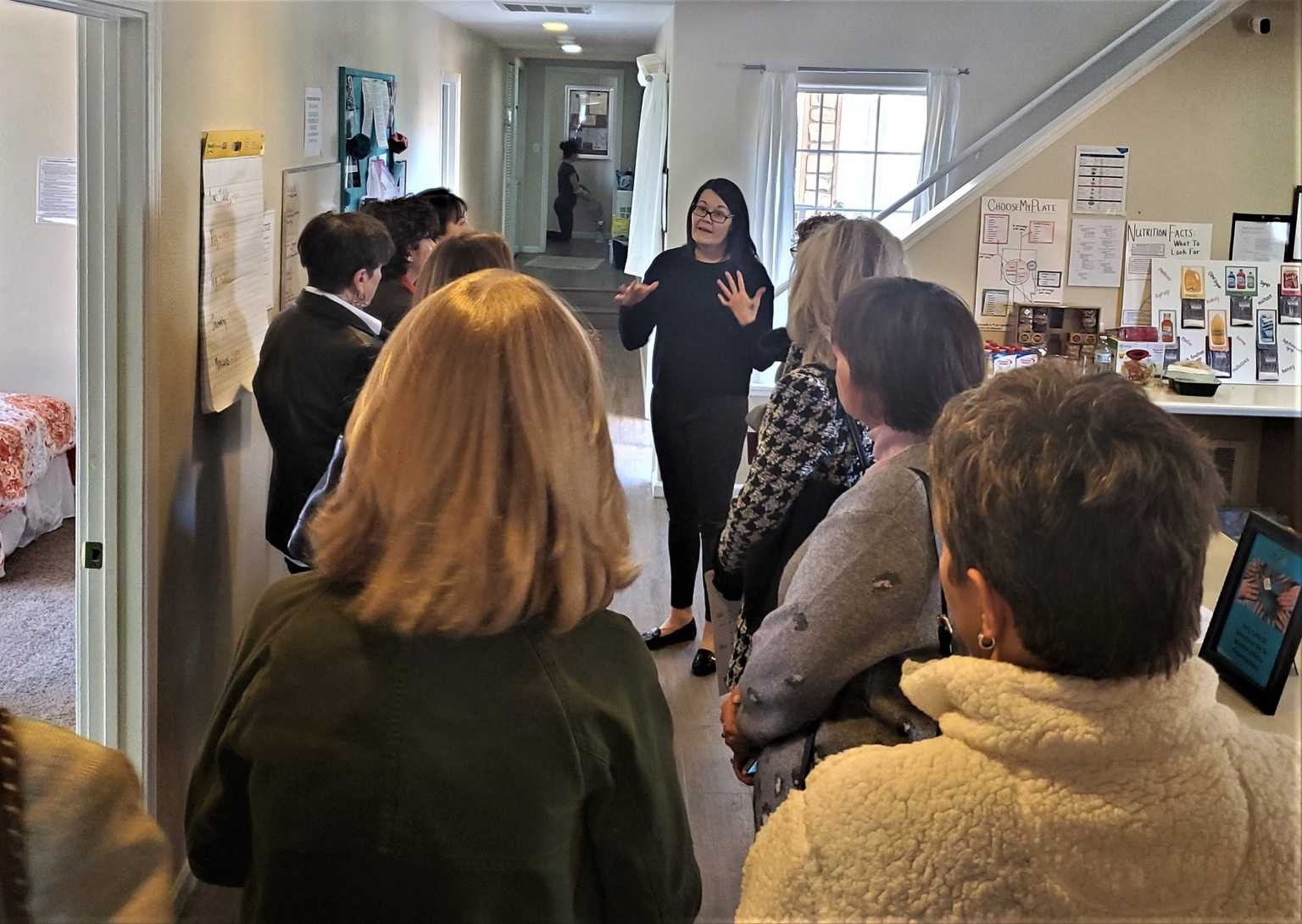 Site visits to nonprofits are one of the philanthropic advising services offered to fundholders.