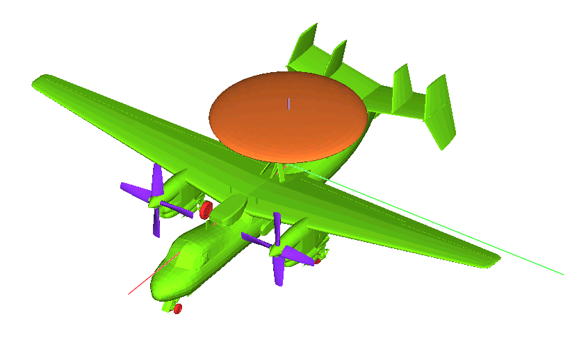 ANSYS Savant model