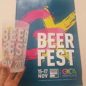 Check these guys out...our fancy reusable festival cups for GXCA beer fest have arrived. Make sure you head over to GXCA this weekend to get your hands on one of these beauties!  We've got 18 beers on keg and cask for you to enjoy alongside street food and live music.  #craftbeer #beerfestival #highwycombe #gerrardscross #livemusic #streetfood #BinghamsBrewery #TringBrewery #StardustBrewery #CreativeJuicesBrewingCompany #MadYankBrewery #ParadigmBrewery #WeirdBeardBrewingCompany #UprisingBrewery