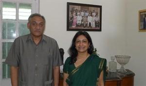 Meeting with the Chief Minister Mr. Vijay Bahuguna