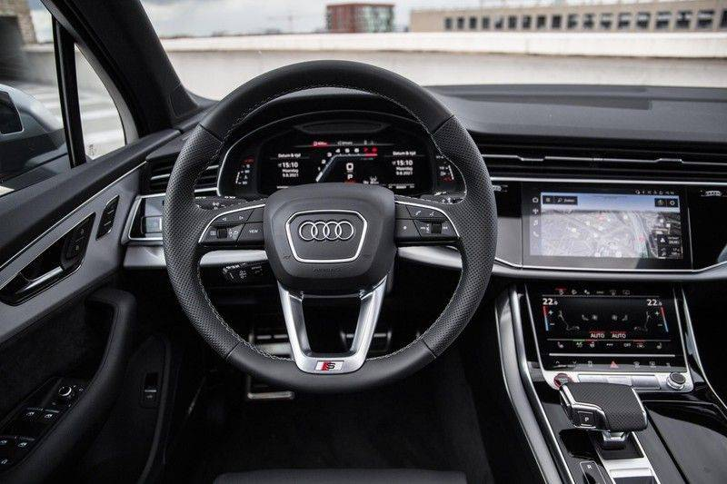 Audi SQ7 4.0 TFSI SQ7 quattro 7p 507PK | S-Line | Pano.Dak | 360 Camera | B&O Sound | Keyless-Entry | S-Sportstoelen | Assistentie Tour-City-Parking | 7 Persoons afbeelding 4