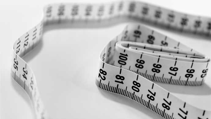 "Tape measure normal or ""disordered"" eating"