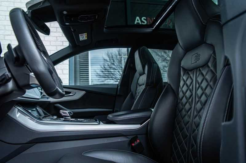 Audi SQ8 Quattro Pro Line S , 435 PK, Black/Optic, Head/Up, Pano/Dak, Valcona/Leder, S/Sportstoelen, 2020, 25DKM!! afbeelding 7