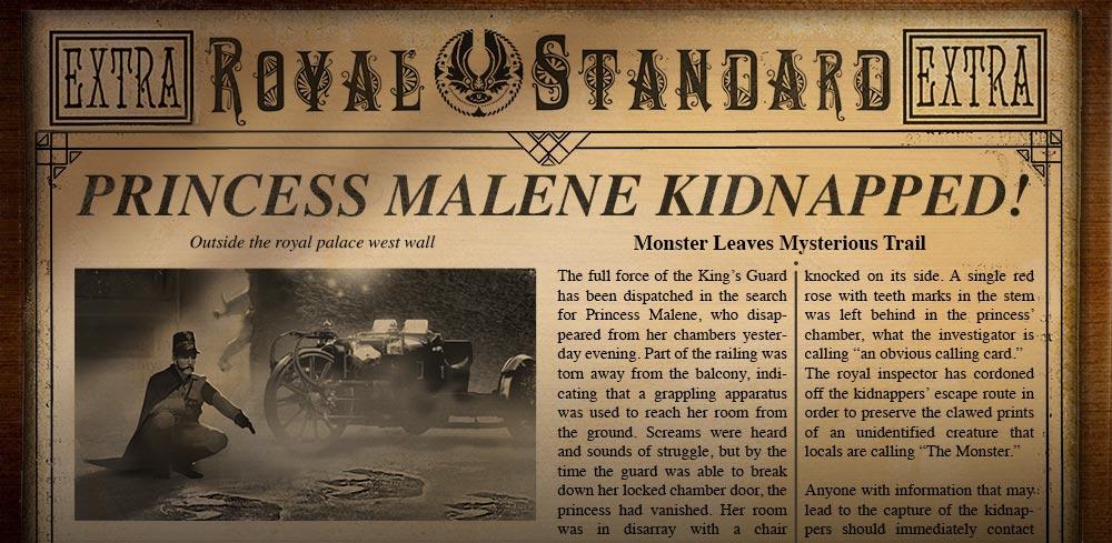 Princess Kidnapped!