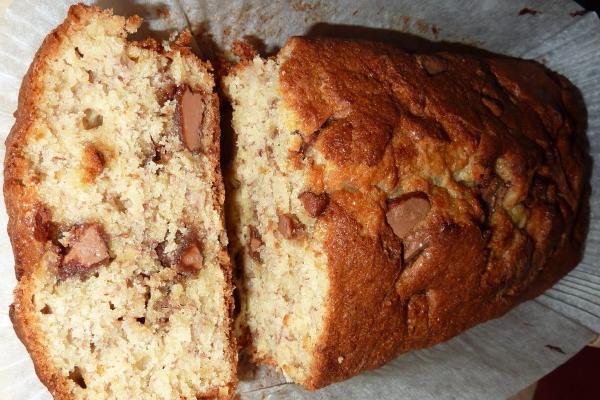 image from Chocolate-Chip Banana Cake Recipe