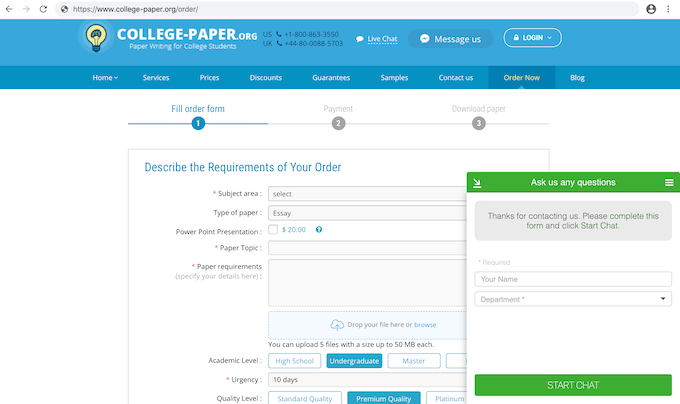 college-paper.org order form
