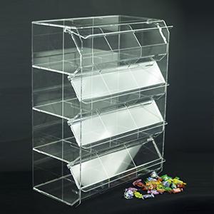 Contenitore 12 Buche per caramelle e generi alimentari