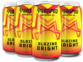 Blazing Bright 6-Pack Cans
