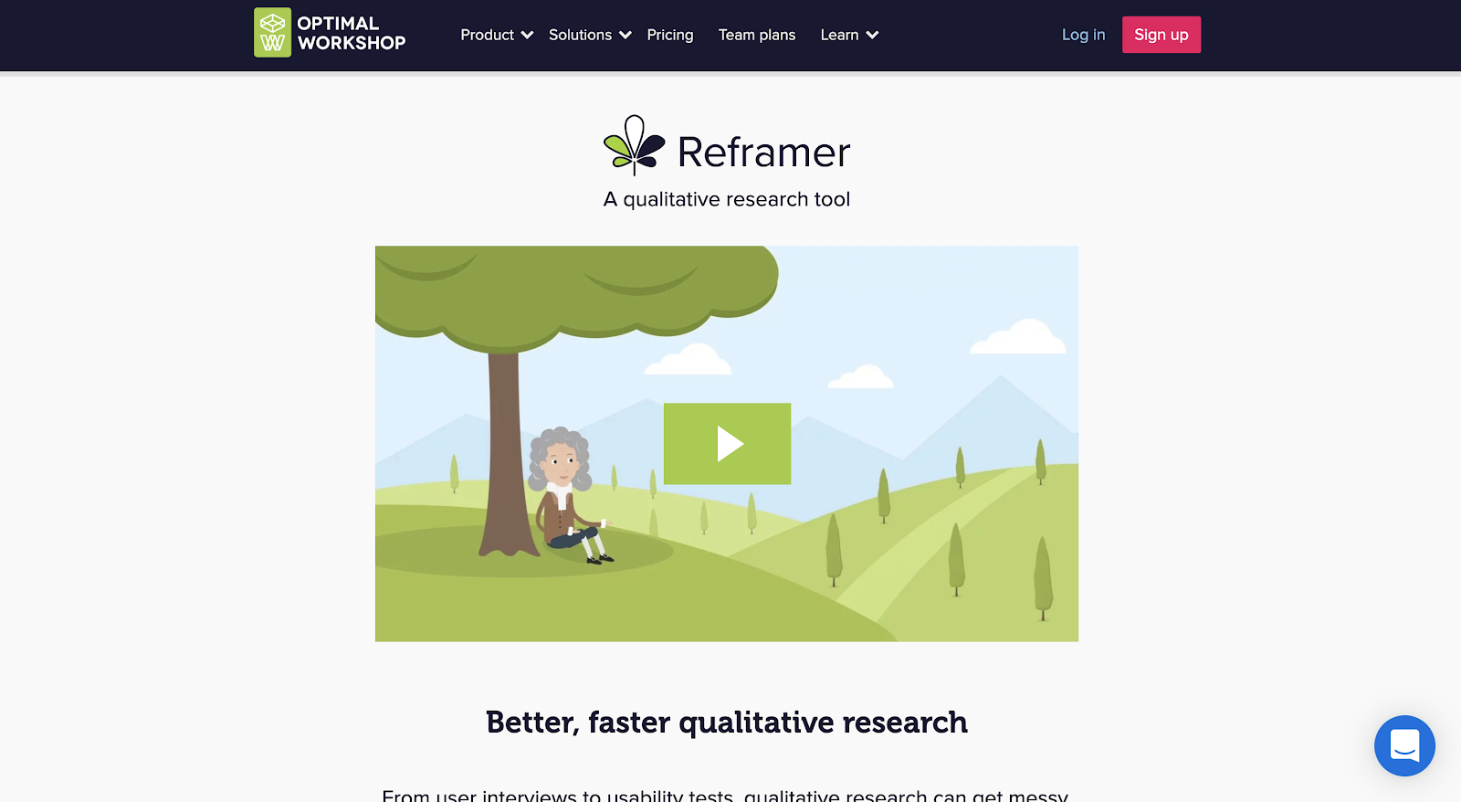 Reframer as a UX research toolbox
