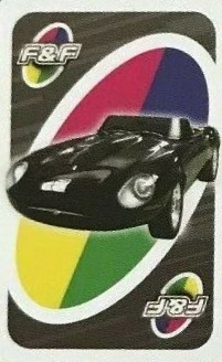 Fast & Furious Uno (Street Race Card)