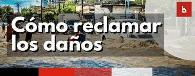 Pasos para reclamar al Consorcio Daños provocados por Inundaciones