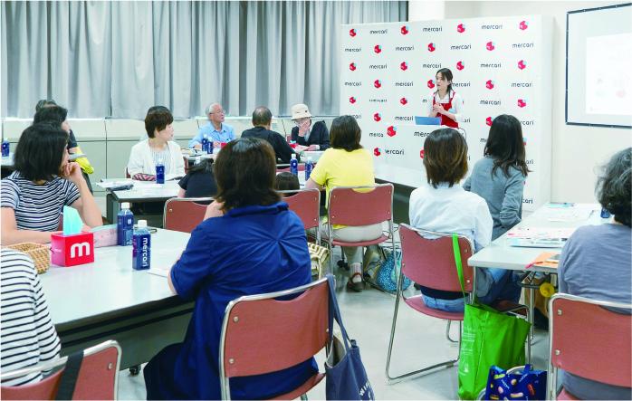 過去に開催した教室(東京都/静岡県)の様子