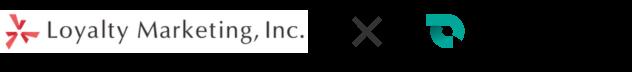 Loyalty Marketing, inc. × SmartDrive ロゴ