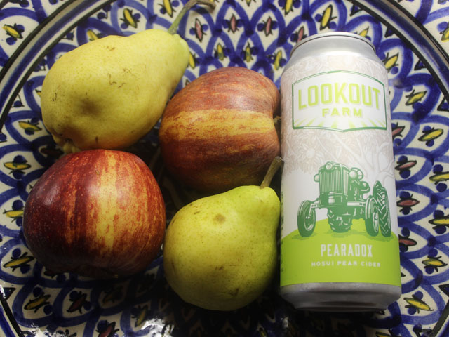 Pearadox, a cider brewed by Lookout Farm Brewing And Cider Company