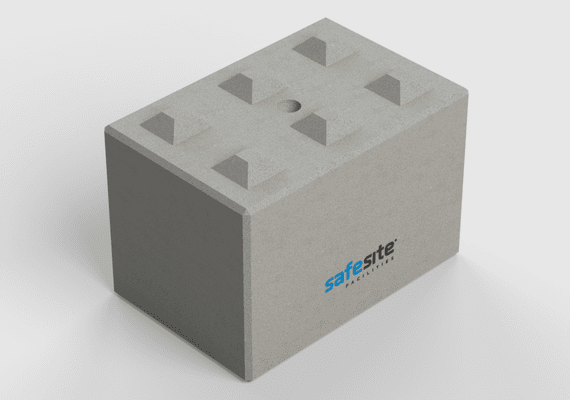 Concrete Lego Brick LG6