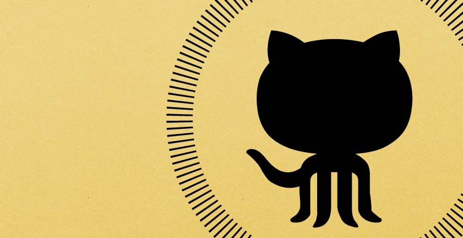 Illustration of a cat's silhouette with a circle around it